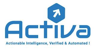 ACTIVA ACTIONABLE INTELLIGENCE, VERIFIED & AUTOMATED ! trademark
