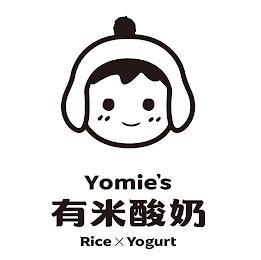 YOMIE'S RICE X YOGURT trademark