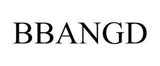 BBANGD trademark