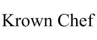 KROWN CHEF trademark