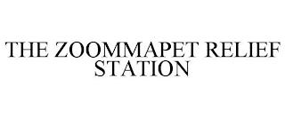 THE ZOOMMAPET RELIEF STATION trademark