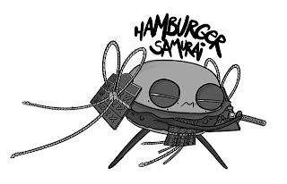 HAMBURGER SAMURAI trademark