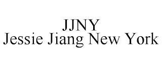 JJNY JESSIE JIANG NEW YORK trademark
