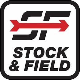 SF STOCK & FIELD trademark