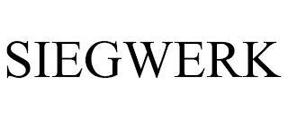 SIEGWERK trademark