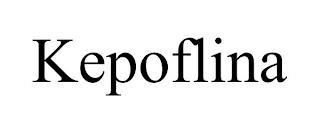 KEPOFLINA trademark
