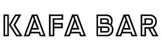 KAFA BAR trademark