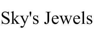 SKY'S JEWELS trademark