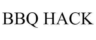 BBQ HACK trademark