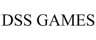 DSS GAMES trademark
