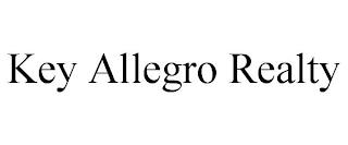 KEY ALLEGRO REALTY trademark