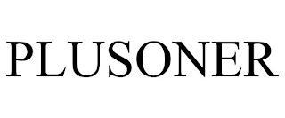 PLUSONER trademark