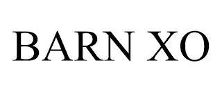 BARN XO trademark