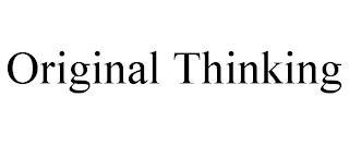 ORIGINAL THINKING trademark