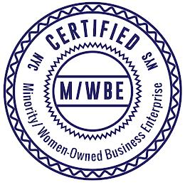 NYC CERTIFIED NYS MINORITY/WOMEN-OWNED BUSINESS ENTERPRISE M/WBE trademark