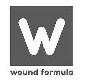 W WOUND FORMULA trademark