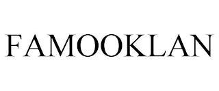 FAMOOKLAN trademark