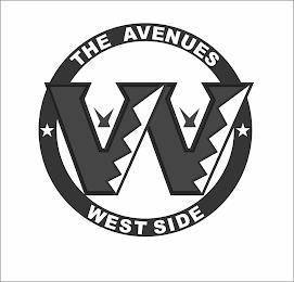 W THE AVENUES WESTSIDE trademark