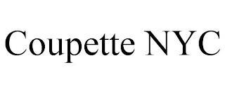 COUPETTE NYC trademark