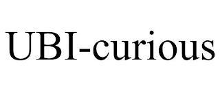 UBI-CURIOUS trademark