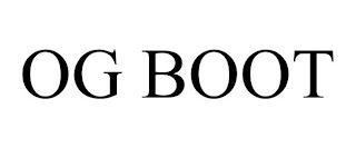 OG BOOT trademark