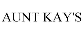 AUNT KAY'S trademark