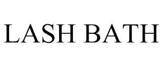 LASH BATH trademark