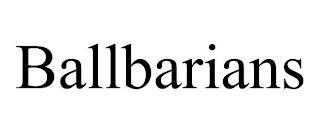 BALLBARIANS trademark