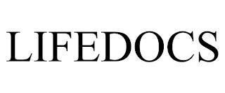LIFEDOCS trademark