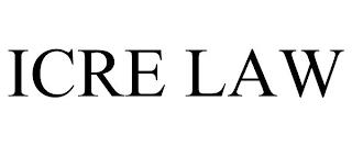 ICRE LAW trademark