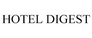 HOTEL DIGEST trademark