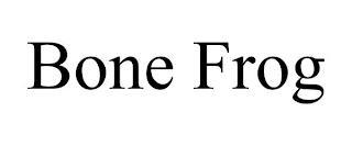 BONE FROG trademark