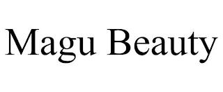 MAGU BEAUTY trademark