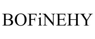 BOFINEHY trademark