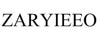 ZARYIEEO trademark