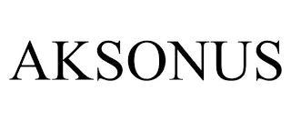 AKSONUS trademark