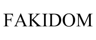 FAKIDOM trademark