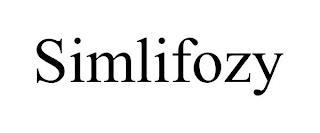 SIMLIFOZY trademark