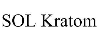 SOL KRATOM trademark