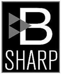 B SHARP trademark