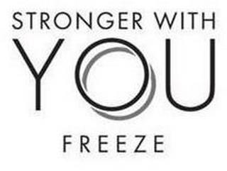 STRONGER WITH YOU FREEZE trademark
