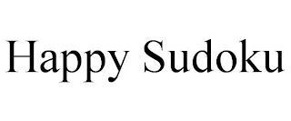 HAPPY SUDOKU trademark