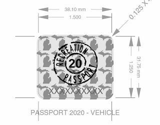 RECREATION PASSPORT trademark
