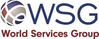WSG WORLD SERVICES GROUP trademark