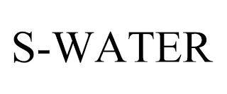 S-WATER trademark