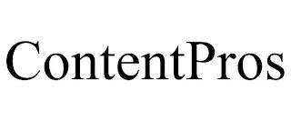 CONTENTPROS trademark