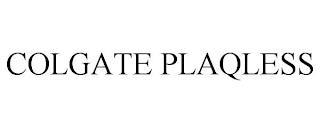 COLGATE PLAQLESS trademark