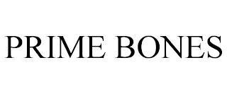 PRIME BONES trademark