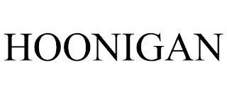 HOONIGAN trademark