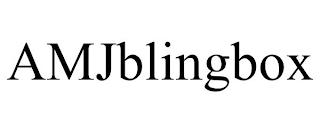 AMJBLINGBOX trademark